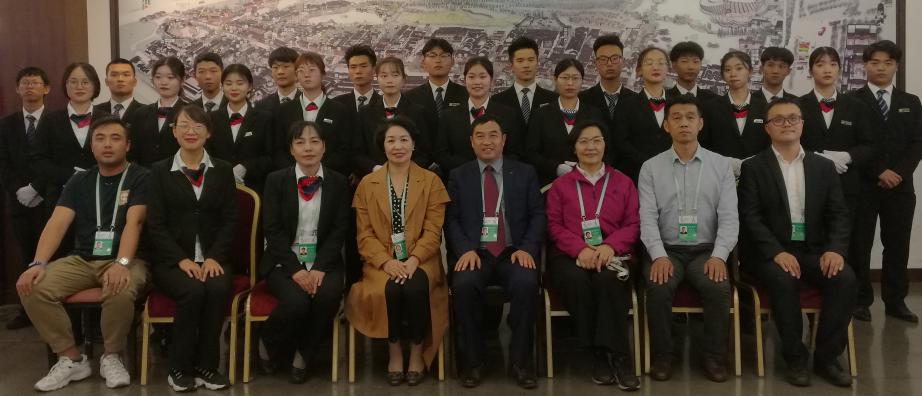 安檢專業圓滿完成第六屆世界互聯網大會烏鎮峰會安檢實訓任務